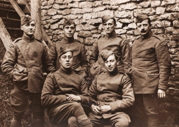 WW1 Photographers group photo