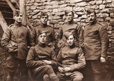 WW1 Photographers group photo
