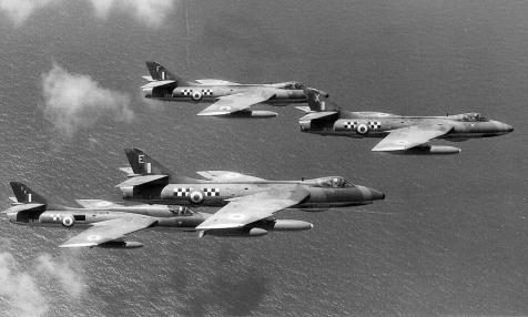 Aden Hunters 1417 FR Flight