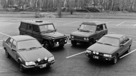Brixmis vehicles used