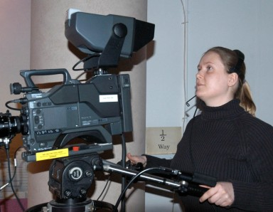 Camera woman - Heidi Burton (nee Cox)