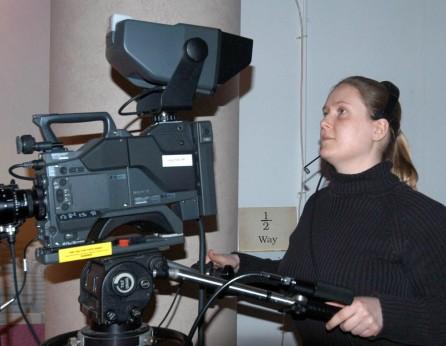 Camera woman - Heidi Burton (nee Cox)