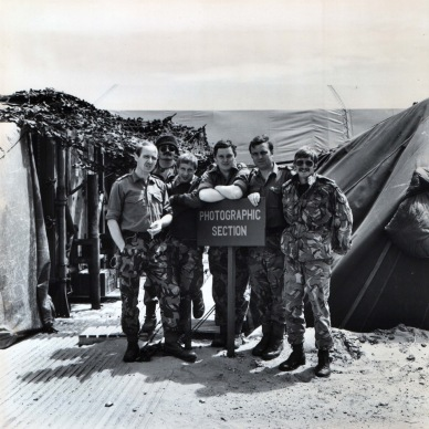 Dec 1982 Photo section RAF Port Stanley Falklands
