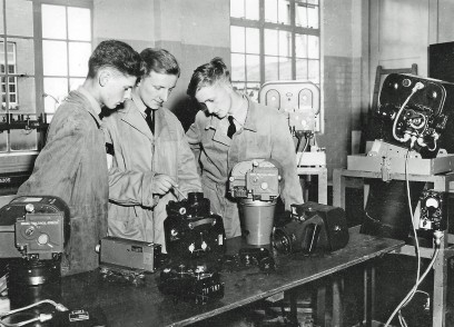 Cpl Jerry Payne Centre ACF Training 1950's Wellesbourne