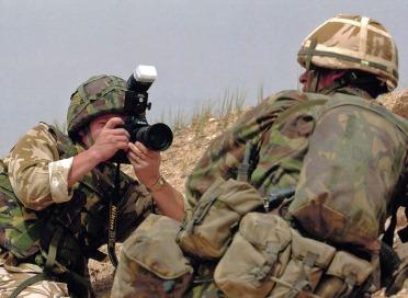 Iraq front line image 2003