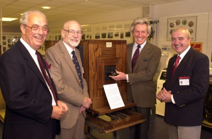 Lord Lichfield and Museum crew