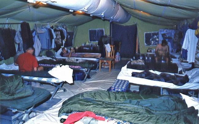 Operation Jural 1996 RIC - accommodation
