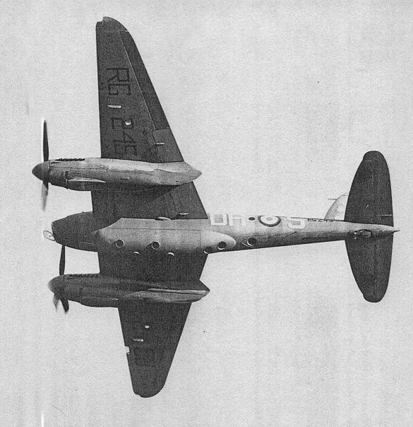 Post war 1948 Mosquito PR 34 RG245 (Benson) 540 Sqn