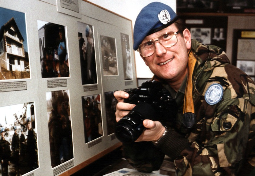 Post war Kosovo Ian Dunning UN detachment