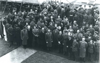 The opening of the new School of Photography at Royal Air Force Cosford 1963