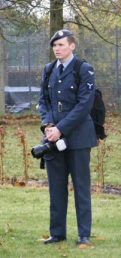 Wet & bored, Duty Photographer at RAF Coltishall