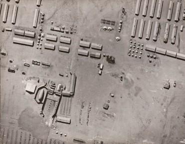 WW1 aerial night photo