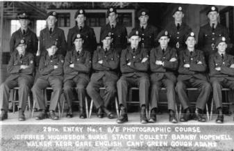 28th Boy Entrant Photogs June 1956
