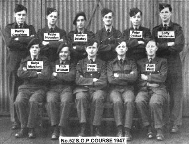 52 SOP Course 1947