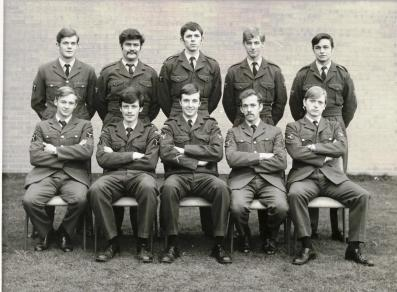 Back, LtoR, P. Seth; B. Quinn; S. Wales; G. Shrubsole; C. Buxton. Front, LtoR, P. Richardson; I. Higgins; P. Mears; M. Griffin; P. Holderness.