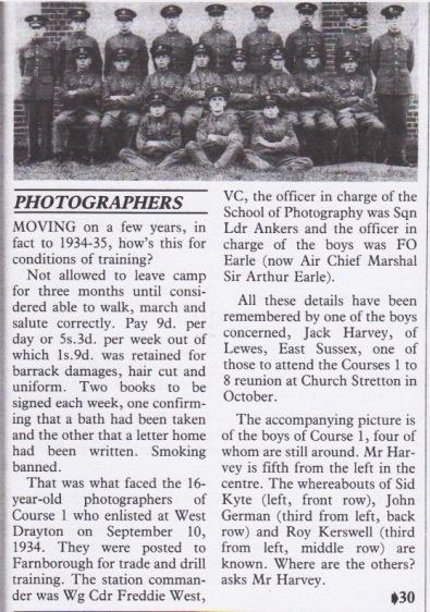 Air Mail photo Winter 1987