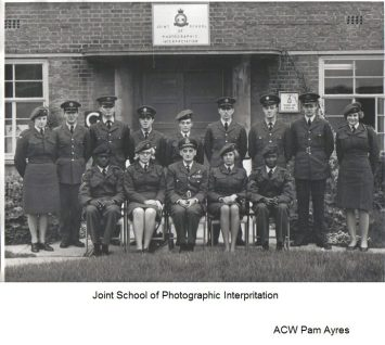 Joint School of Photographic Interpretation ACW Pam Ayres