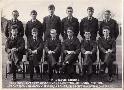 Just coming up to 50 years since we joined the RAF. Happy days.
