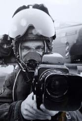 Photo G Sgt Brian Lawrence in full working kit at RAF Cottesmore in 1983, ready for anything 247.