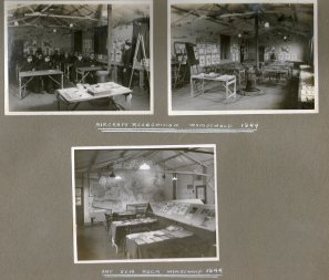 Aircraft recognition and Int Gen room Wymeswold 1944