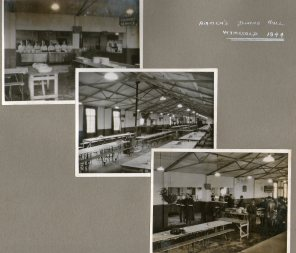 Airman's dining hall Wymeswold 1944