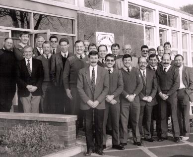 Jim Poole's Top Table Dec 1991
