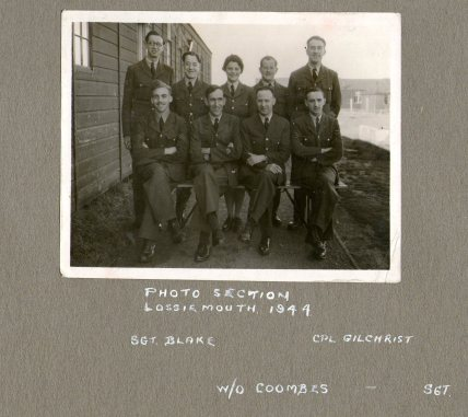 Photo section Lossiemouth 1944