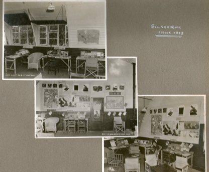 Silverstone newsroom 1943