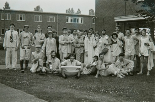 Joint Forces Pajama party 1978