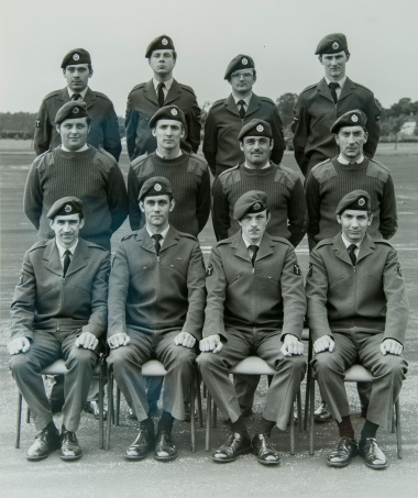 Back Row: John Battie, Tim Larsen-Collinge, Stevie Brooks, Gavin Buffton, Middle Row: Chris Mercer, Wayne Palmer, Terry Welsh, Pete Lawrence, Front Row: Sam Mcllellon, Mark Baiegent, Pete Boardman, ? Cargille?