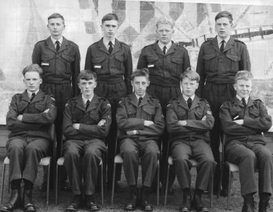 Back row L-R Steve McAdam, John Nichols, Pete Badley, Andy Taylor. Front Row L-R Mick Walker, Pete Tyas, John Angel (Jangle), Chris Bovingdon, Alistair Horwood