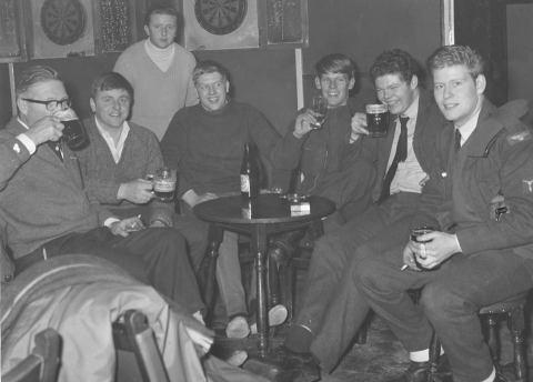 Mick Burt 2nd from right