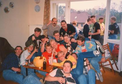 Bald Eagle bash at Nick Collins AMQ RAF Lasrbruch 1986/7 1