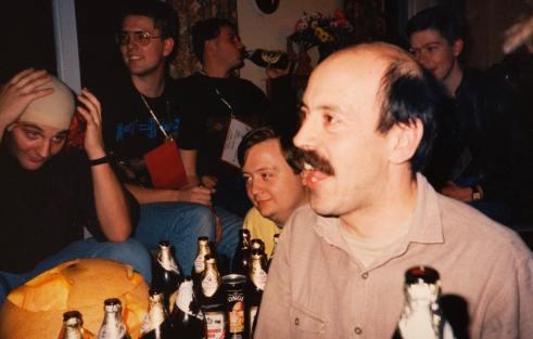 Bald Eagle bash at Nick Collins AMQ RAF Lasrbruch 1986/7 2