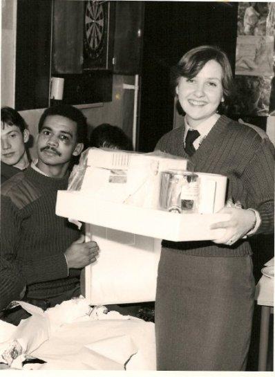 Rheindahlen Kathy Murphy with Andy Thomas