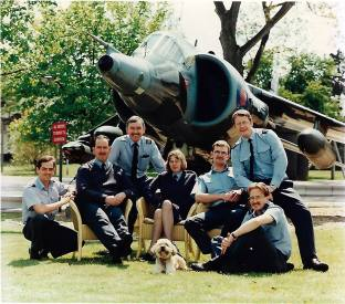 RAF Wittering in 1990