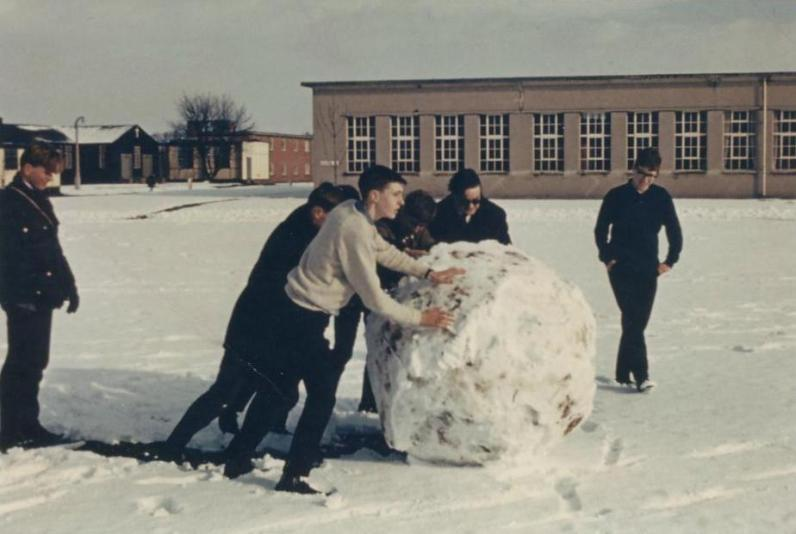 APOs 5&6 Build a Snowman RAF Cosford Feb 1969