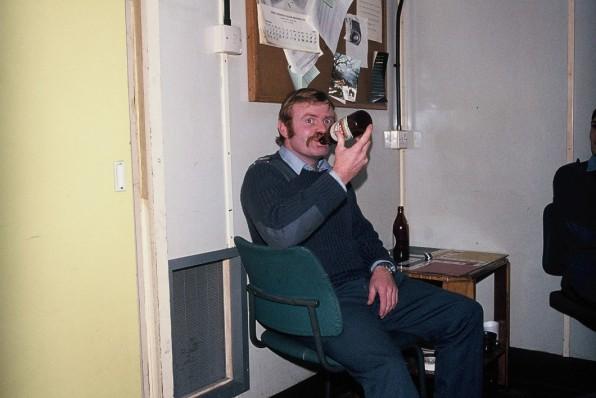 Ginge Hilton SCIEL RAF Bruggen 1975