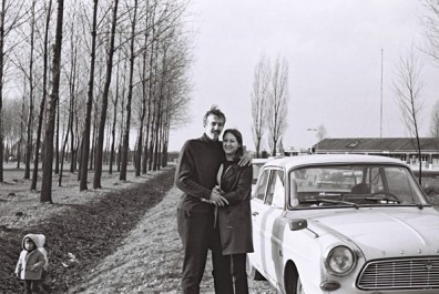 Ken & Jean Manley RAF Wildenrath Dec 1970