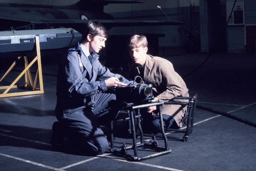 Pete Mears & Graham Shrubsole ACF 21 RAF Cosford 1974