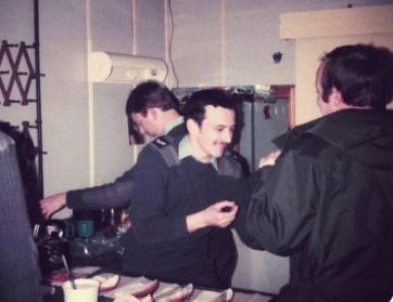 Steve Ware & Co SCIEL Tea Bar RAF Bruggen 1980