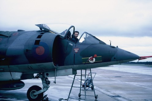 ACF Jim Martin 4 Sqn RAF Wildenrath Jan 1972