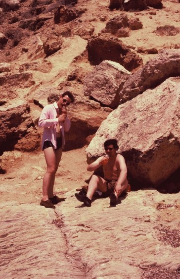 ACF Mo Hope (Left) RAF Akrotiri Cliffs May 1970