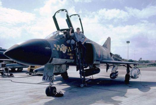 ACF Pete Mears 31 Sqn Decimomannu, Sardinia 1975