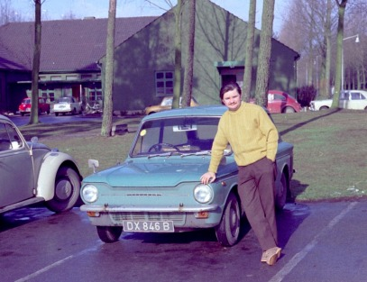 APO Alf Clucas Plus Imp, Visiting Malcolm Club RAF Wildenrath 1972