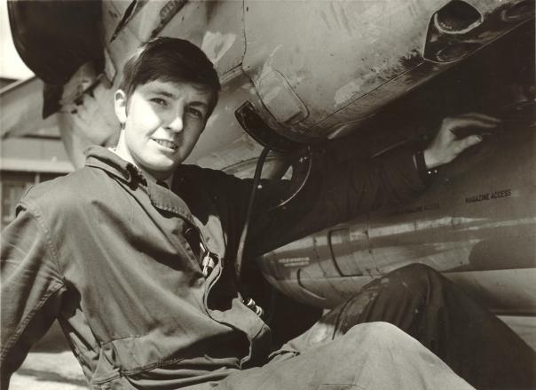 APO Pete Mears & 4 Sqn Recce Pod RAF Wildenrath 1973