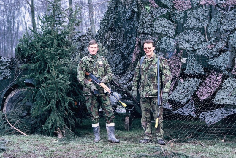 APO Pete Mears & ACF 'Dex' Dexter, Deployed 4 Sqn Site, Germany 1973