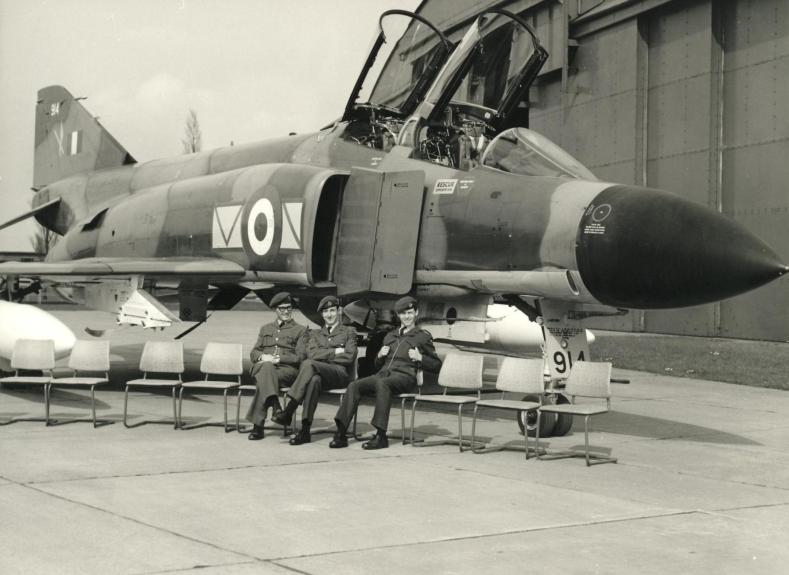Photogs Jim Laycock, Andy Levesley, Andy Lewis RAF Coningsby 1969
